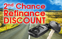 Second chance refinance discount