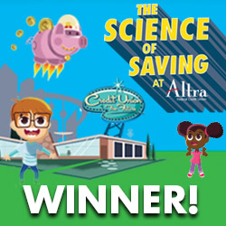 the science of saving at altra - winner!